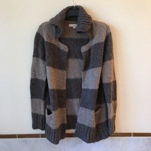 Ann Taylor Loft Open Front Cardigan Wool Mohair